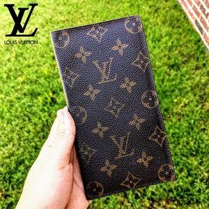 🆕Louis Vuitton Monogram Bifold Long Wallet